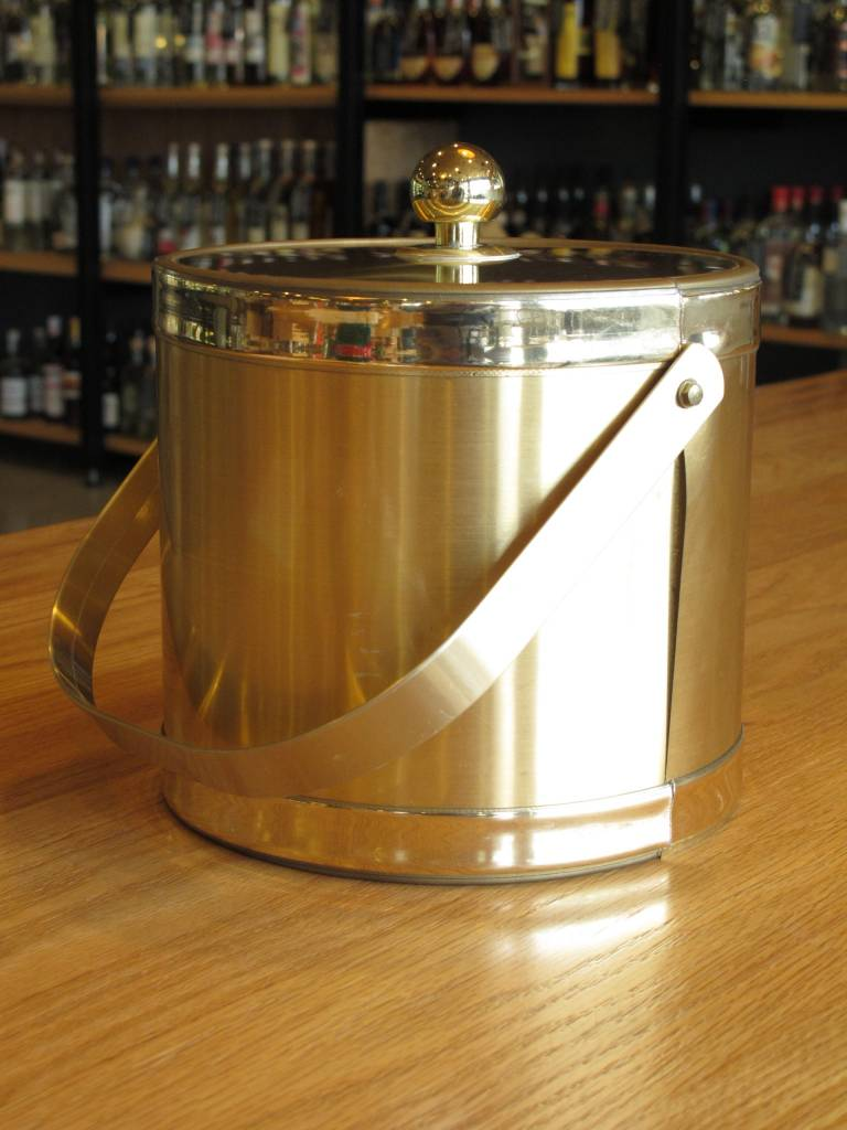 Georges Briard Vintage Georges Briard Gold Brass Tone Ice Bucket