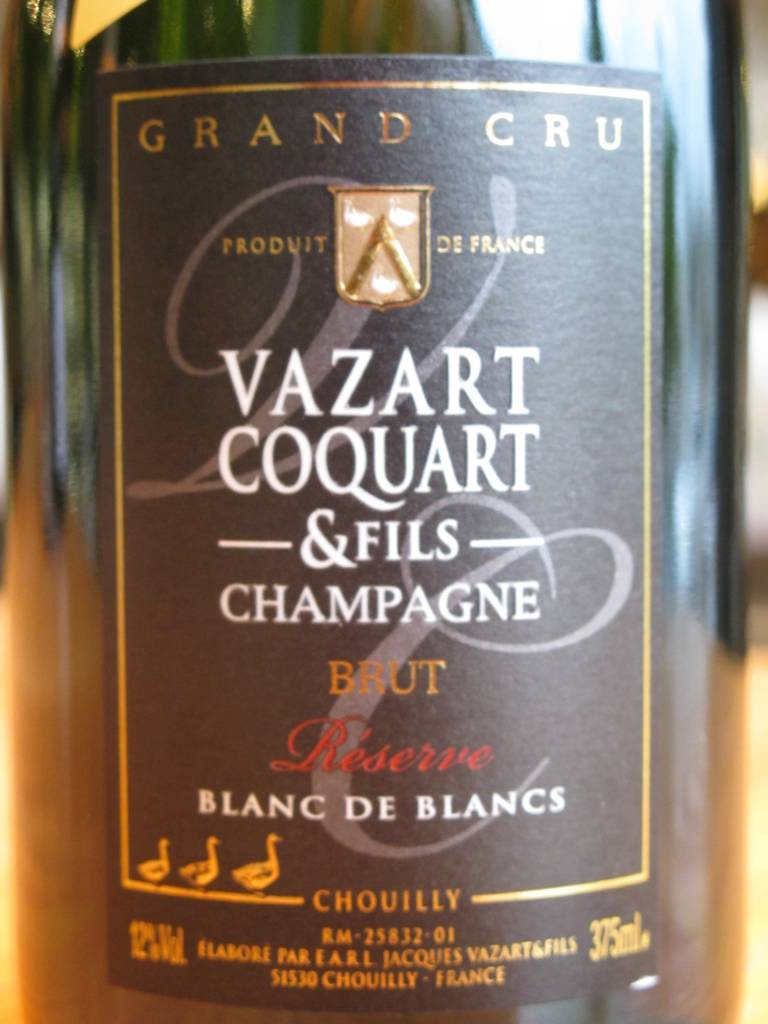 Vazart-Coquart et Fils NV Vazart-Coquart et Fils Brut Reserve Blanc de Blancs 375mL