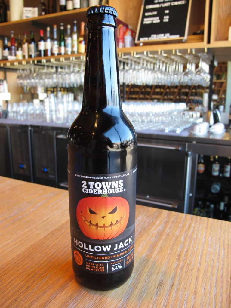 2 Towns Ciderhouse 2 Towns Ciderhouse Hollow Jack Pumpkin Cider 500mL