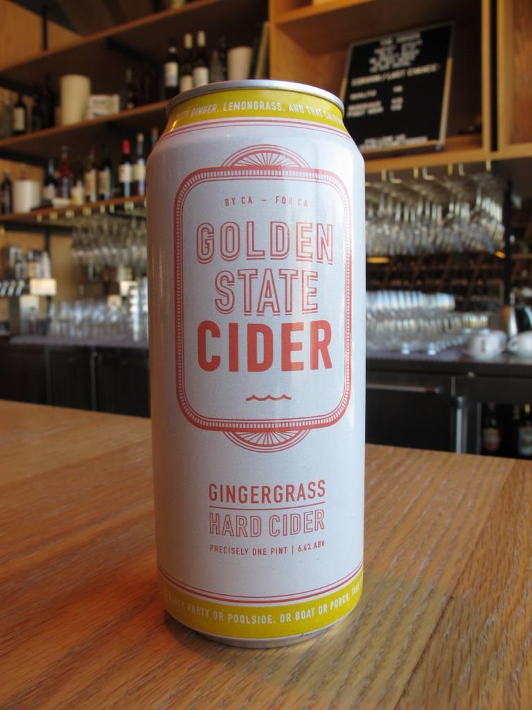 Golden State Cider Golden State Gingergrass Hard Cider 16oz