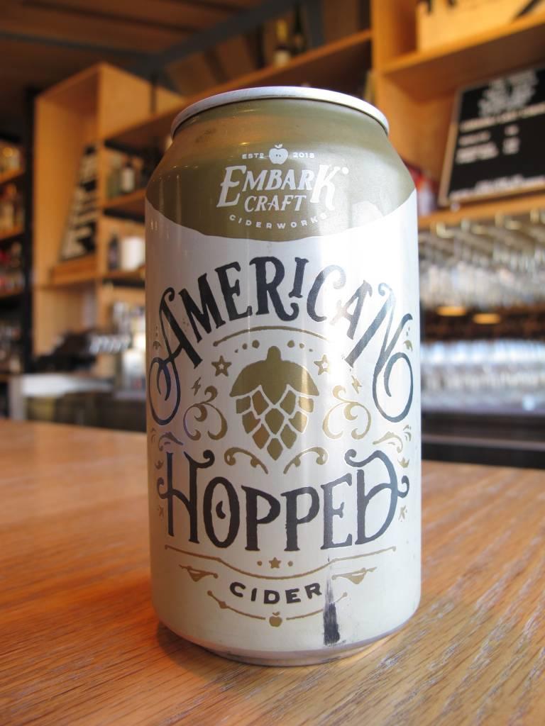 Embark Craft Ciderworks Embark American Hopped Cider 12oz