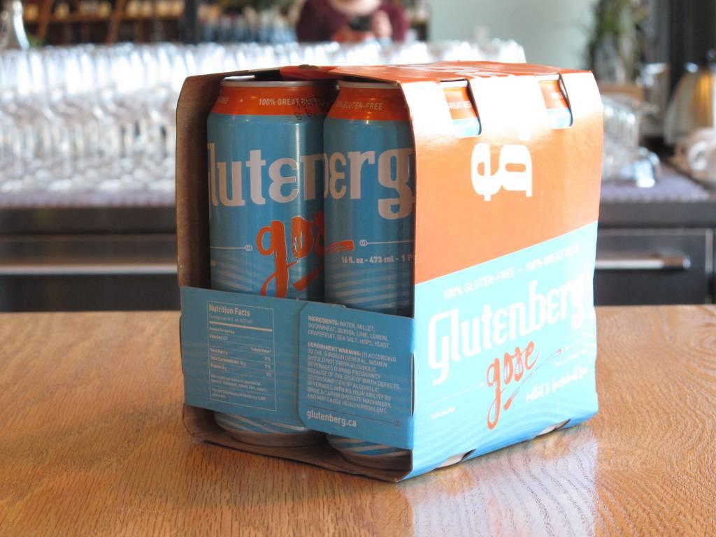 Glutenberg Glutenberg Gose 16OZ 4pack