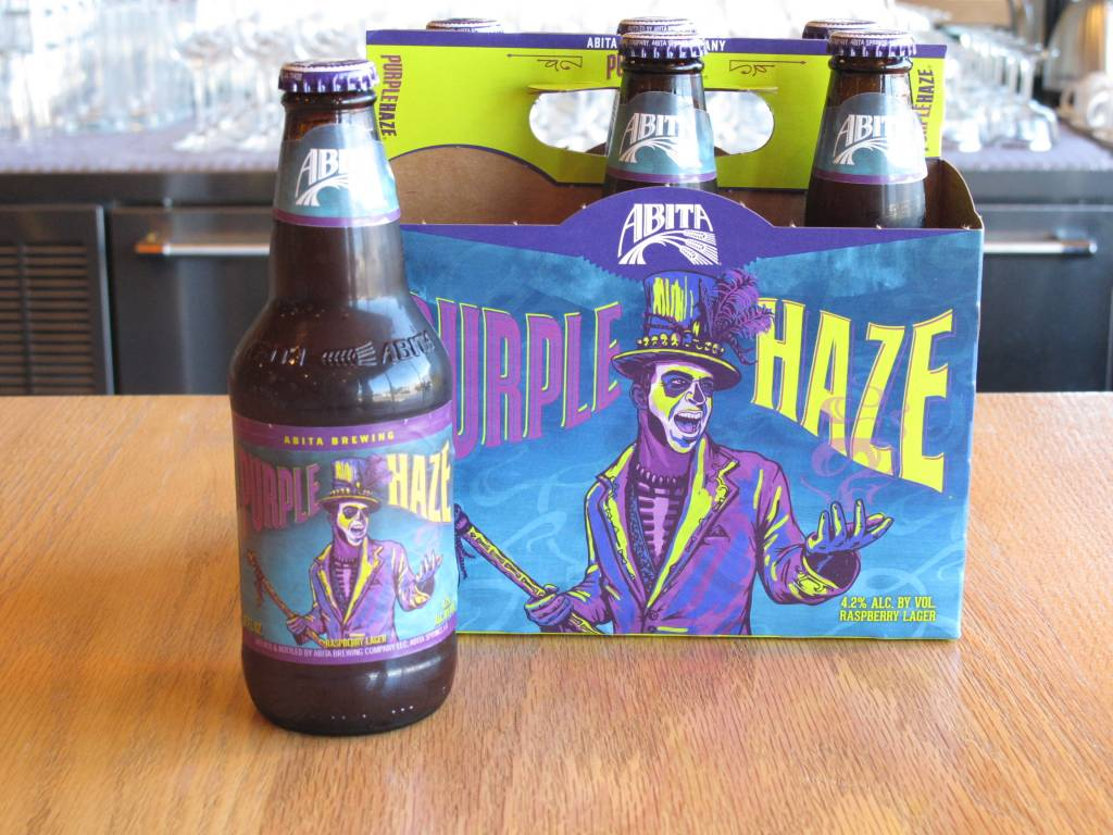 Abita Brewery Abita Brewing Purple Haze Raspberry Lager 6 Pack 12oz