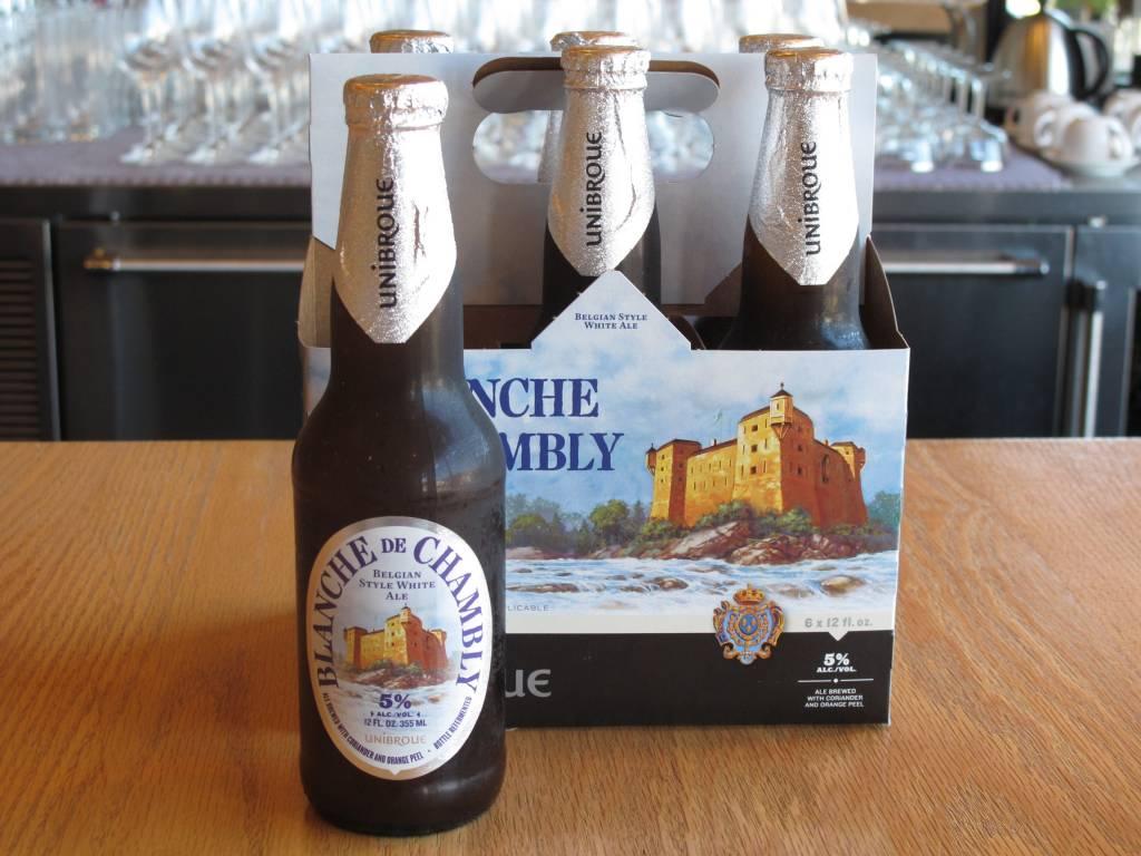 Unibroue Unibroue Blanche de Chambly 12oz 6 Pack