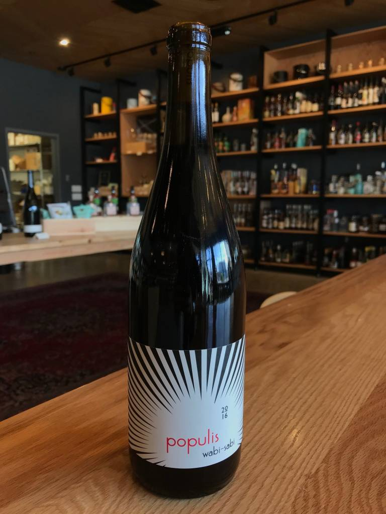 Populis Wine 2016 Populis Wabi Sabi Red Blend 750mL