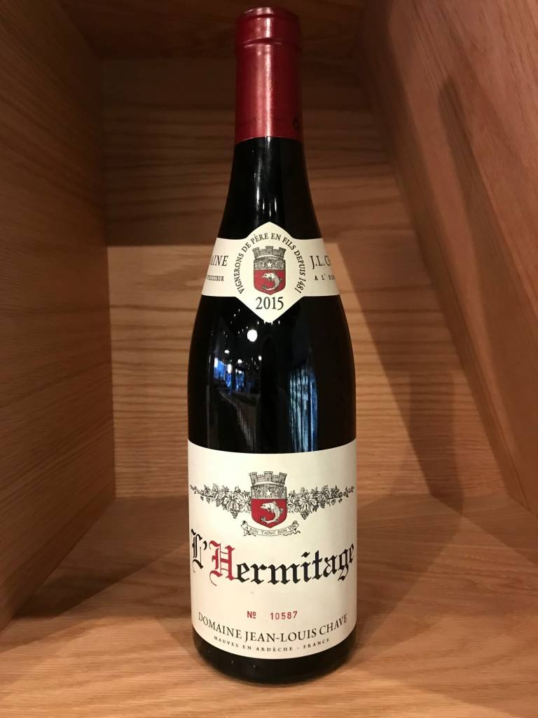 J.L. Chave 2015 J.L. Chave Hermitage Rouge 750mL
