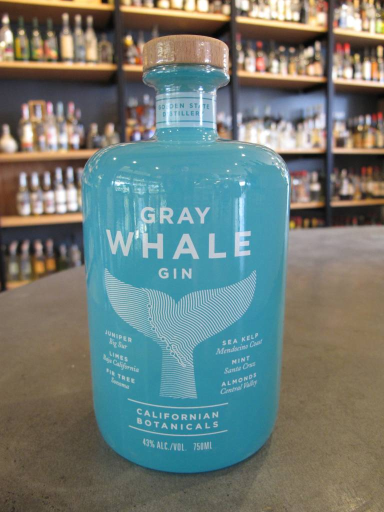 Golden State Distillery Gray Whale Gin 750mL