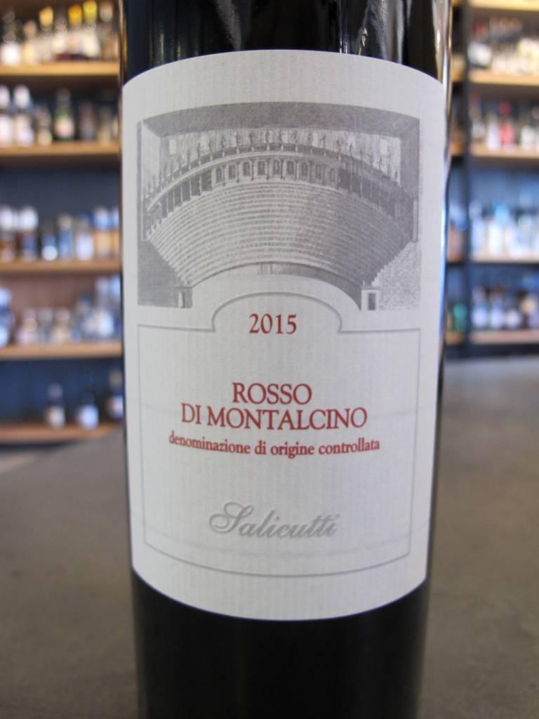 Salicutti 2015 Salicutti Rosso di Montalcino 750ml