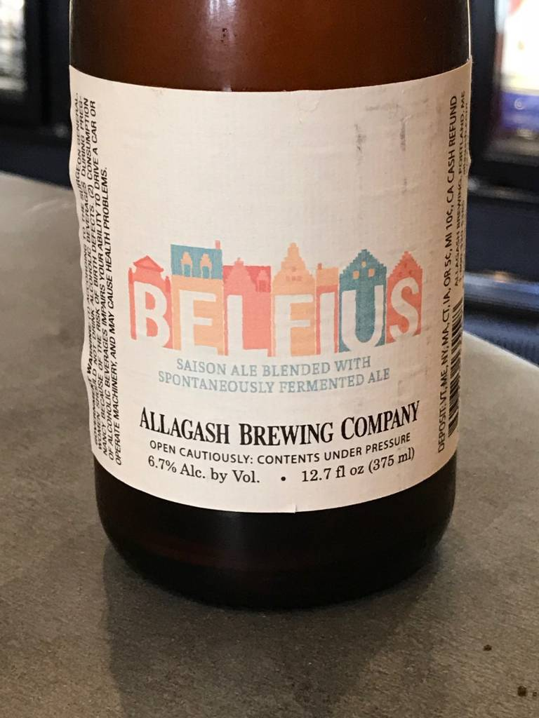 Allagash Allagash Belfius Spontaneously Fermented Ale/Saison 375ML