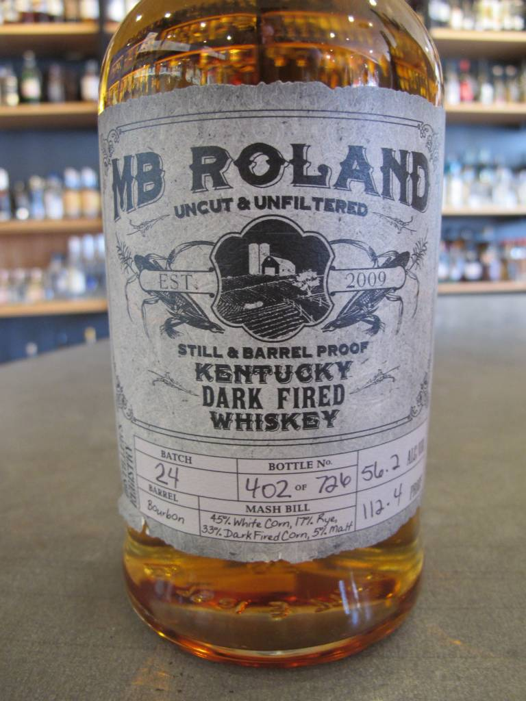 MB Roland MB Roland Kentucky Dark Fired Whiskey 750mL