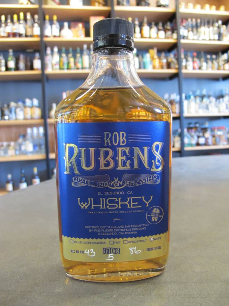 Rob Ruben's Distillery & Brewery Rob Rubens Wheat Whiskey 375mL