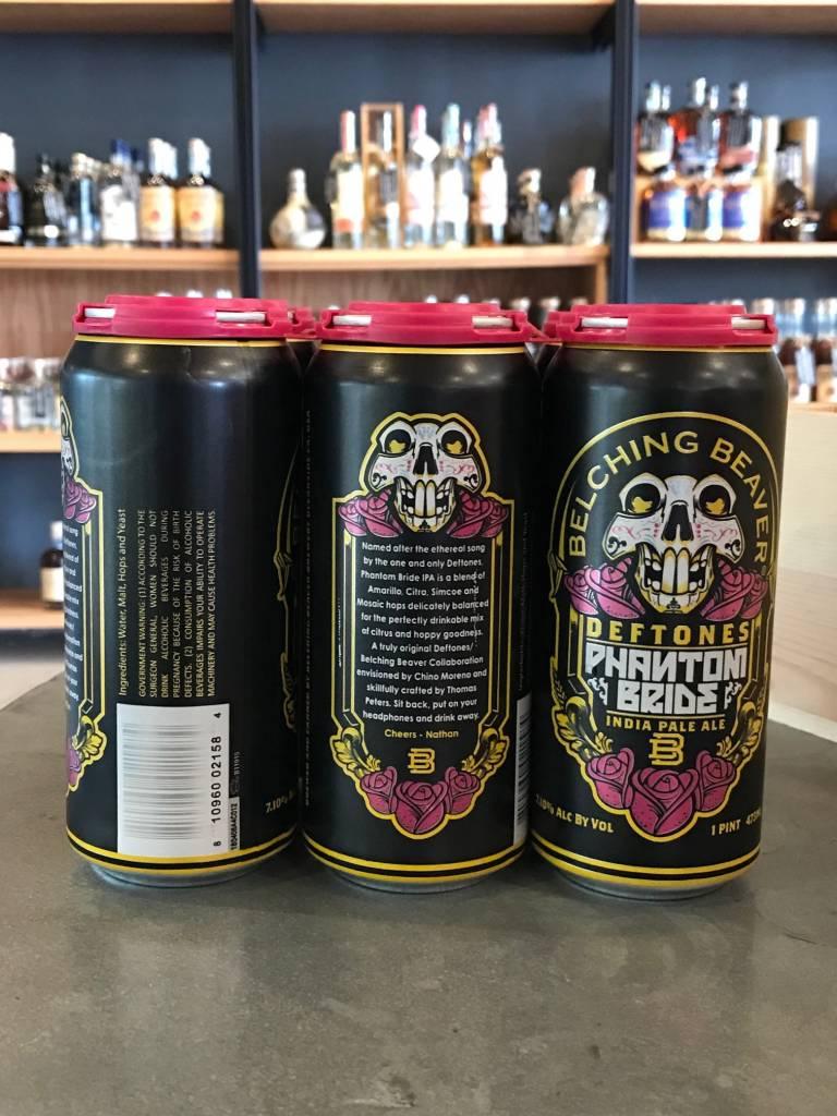 Belching Beaver Brewery Belching Beaver Brewery Deftones Phantom Bride IPA 16oz 6 Pack
