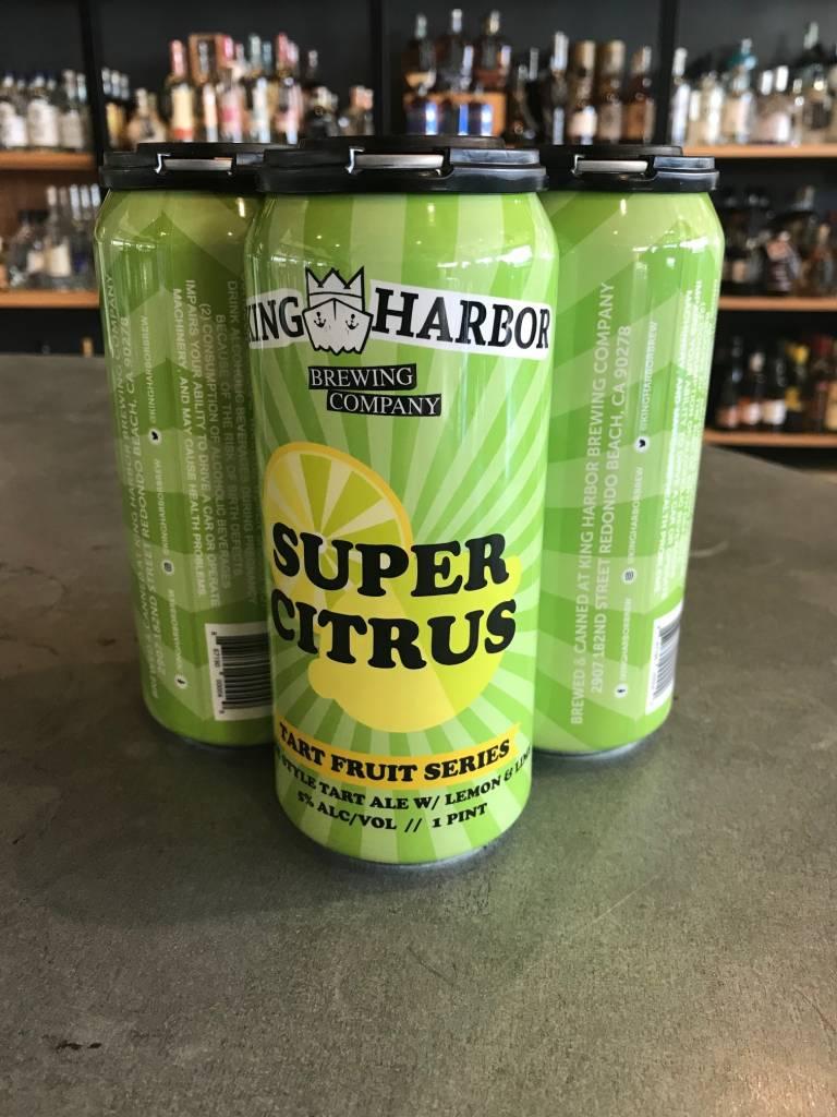 King Harbor Brewing Company King Harbor Super Citrus Gose 16oz 4pk