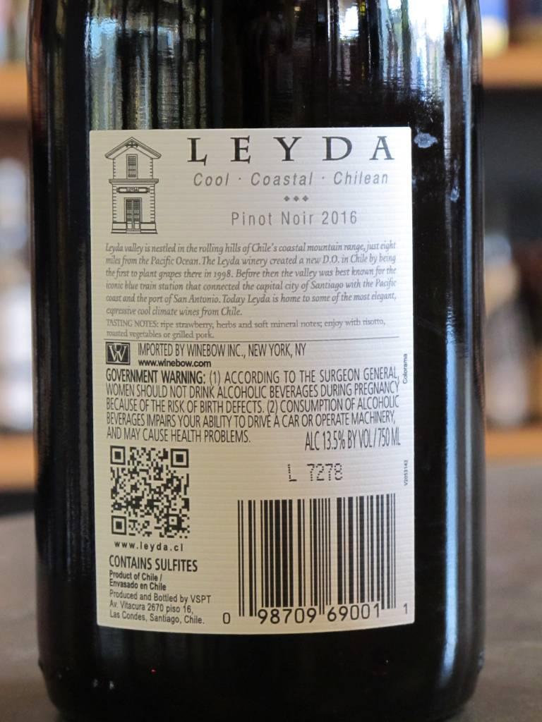 Leyda 2016 Leyda Pinot Noir Classic 750ml
