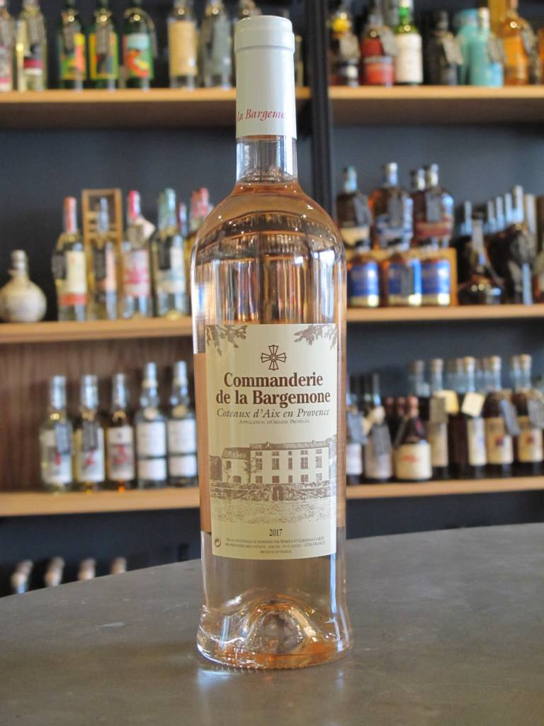 Commanderie de la Bargemone 2017 Commanderie de la Bargemone Rosé 750mL