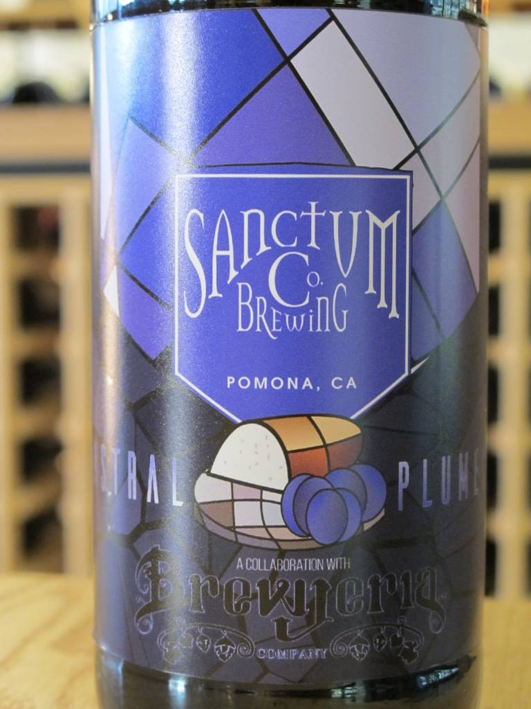 Sanctum Brewing Co. Sanctum Brewing Co. Astral Plumes Quad w/ Cinnamon Bread and Plum 22oz