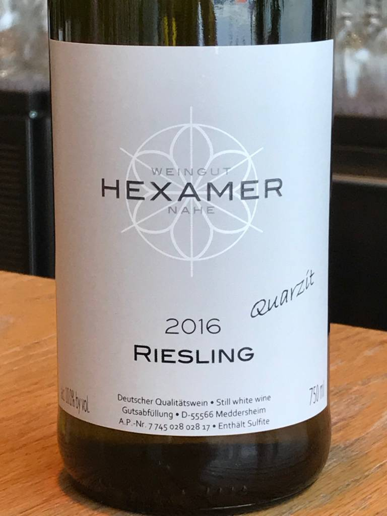 Hexamer 2016 Hexamer Riesling ''Quarzit'' 750ml