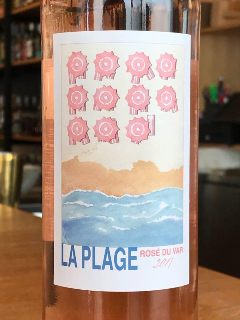 Mâitres  Vignerons de la Vidaubanaise 2017 La Plage Rosé du Var - Provence