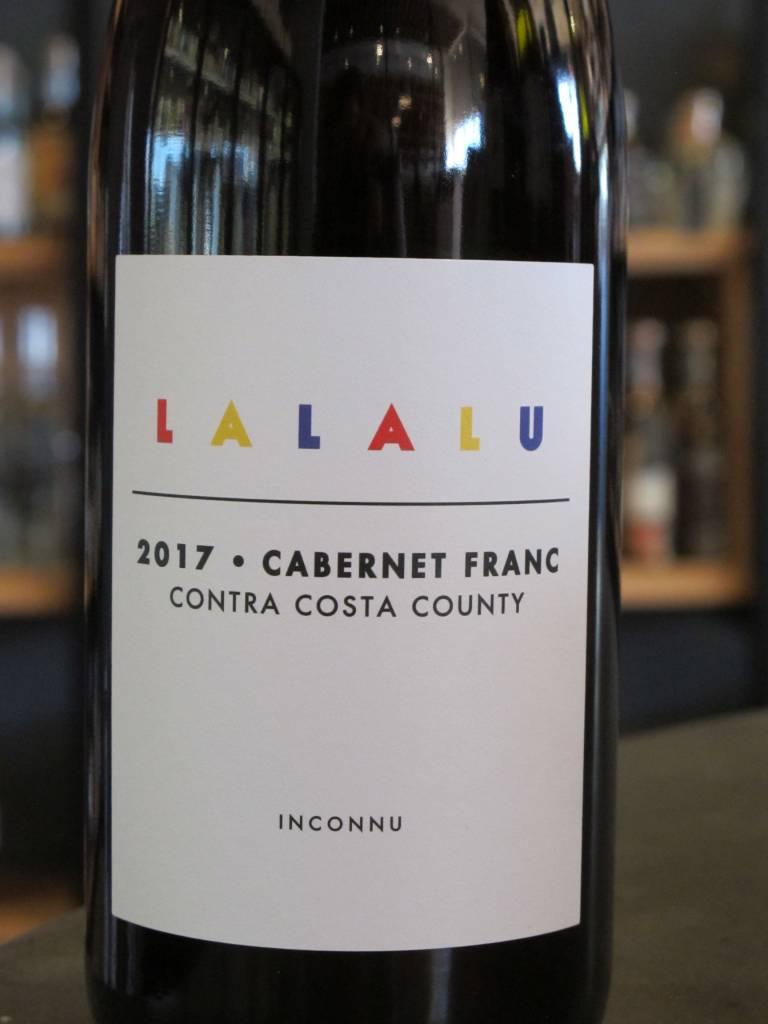 Inconnu 2017 Lalalu Cabernet Franc Contra Costa County 750ml