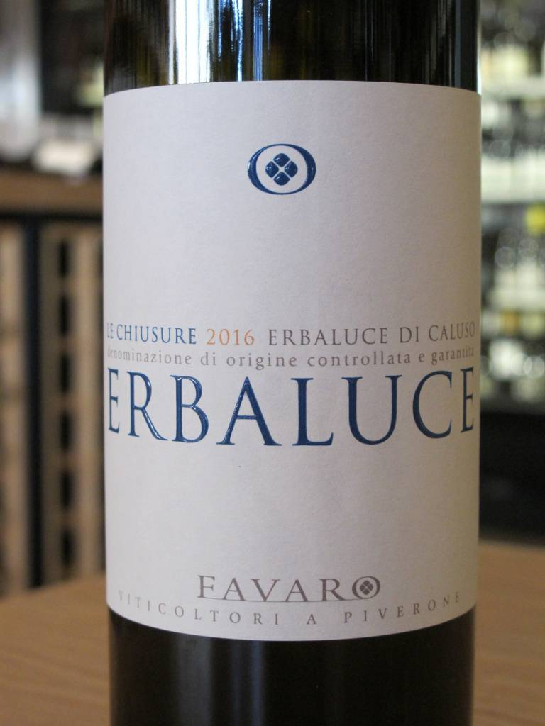 Favaro 2016 Favaro Erbaluce di Caluso