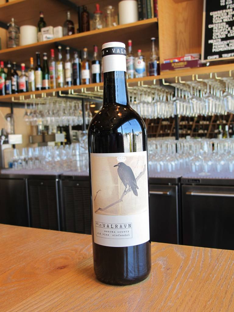 Valravn 2015 Valravn Sonoma County Old Vine Zinfandel