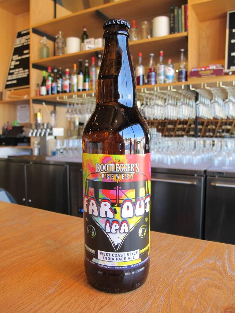 Bootlegger's Brewery Bootlegger Far Out IPA 22oz