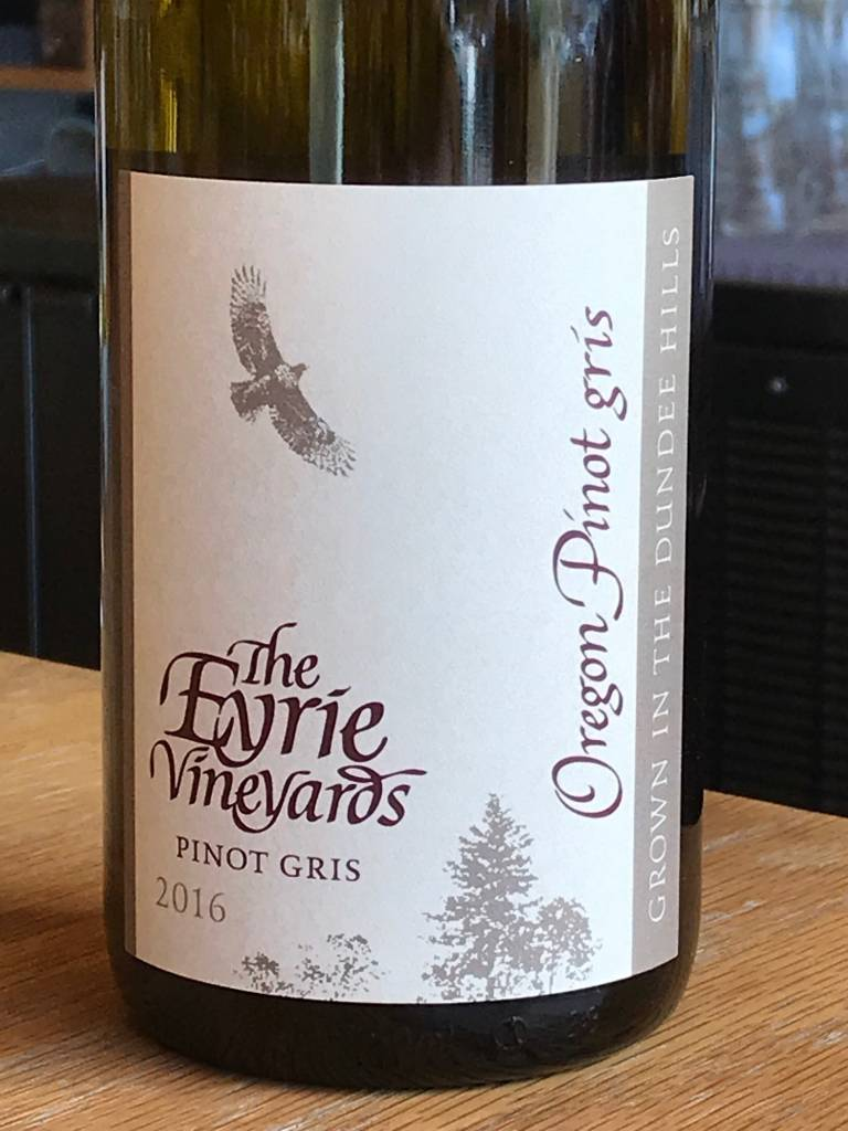 2016 Eyrie Pinot Gris Dundee Hills