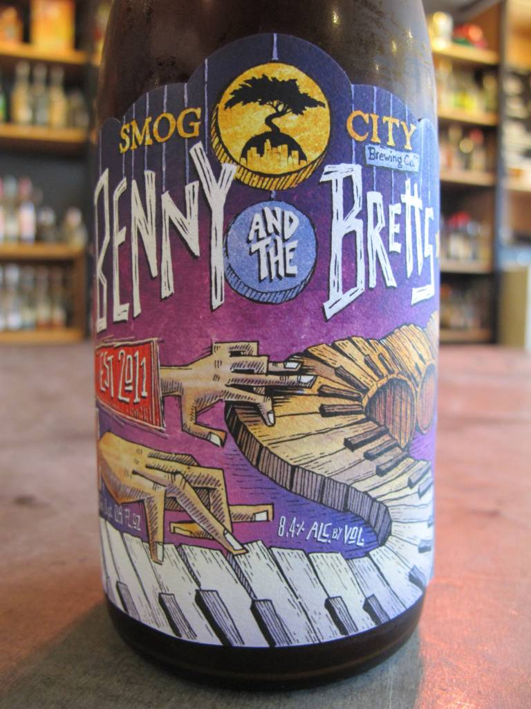 Smog City Brewing Co. Smog City Brewing Co. Benny and the Bretts Vol. 2 500mL