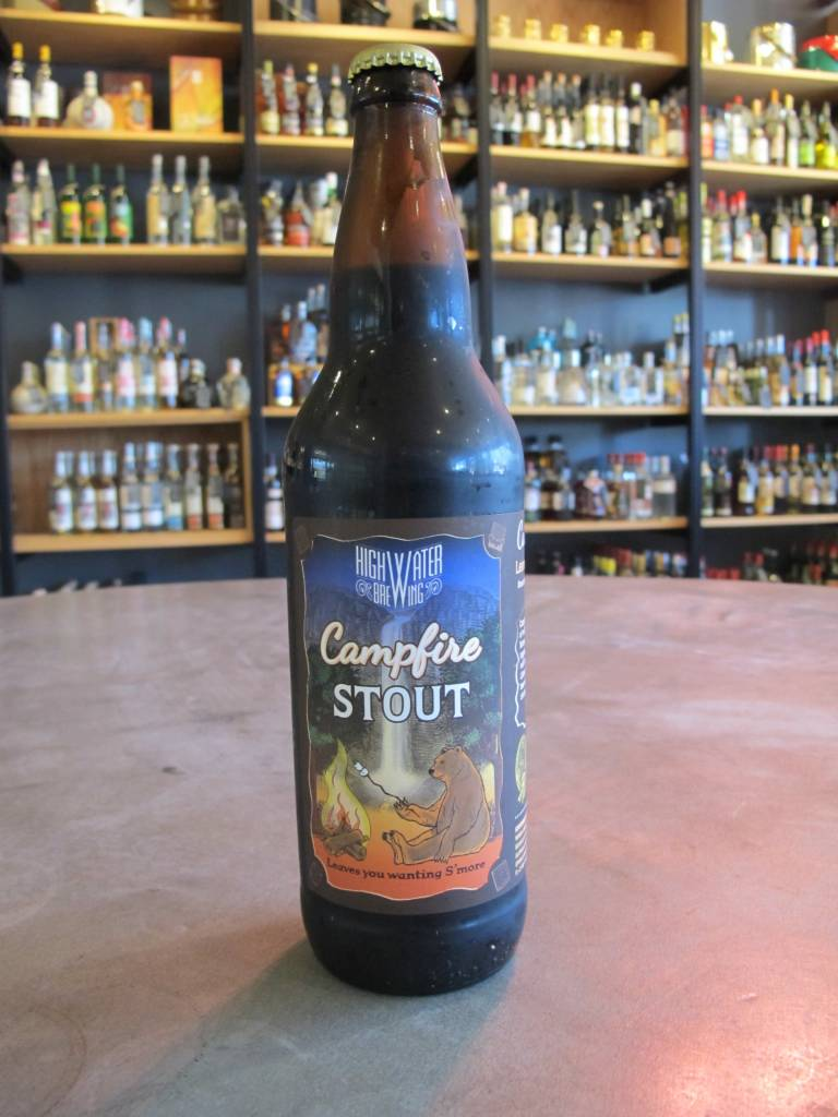Highwater Brewing Highwater Campfire Stout 22oz