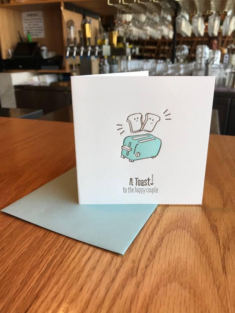 Toast Elum Greeting Card