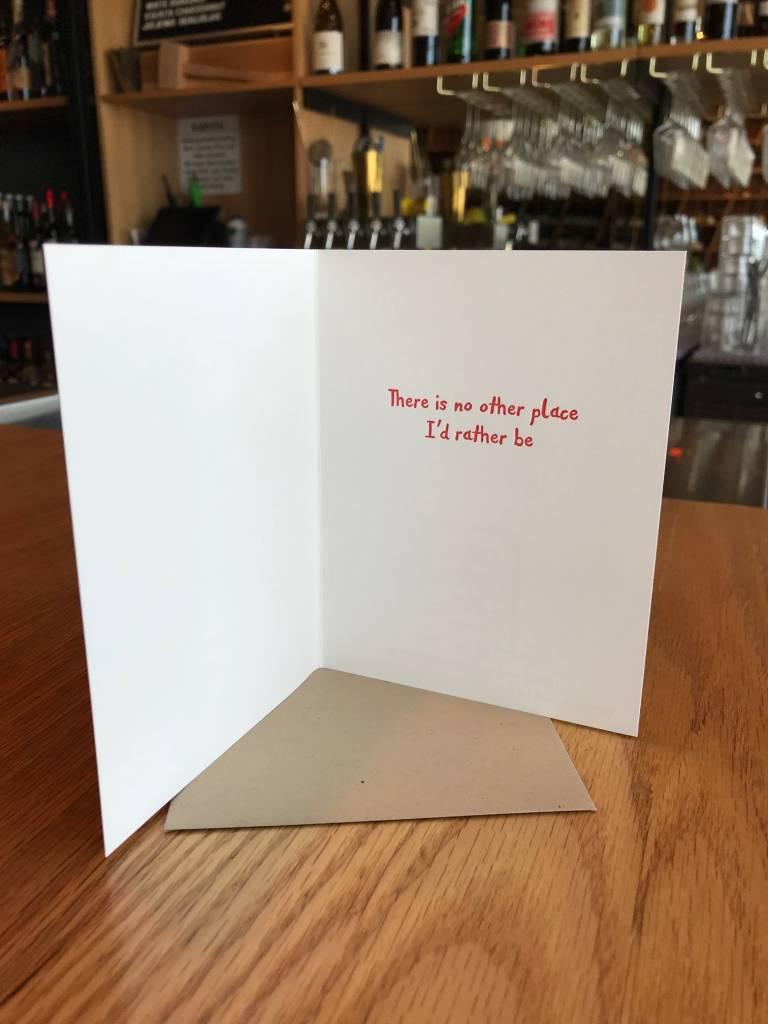 Lazy Days Elum Greeting Card