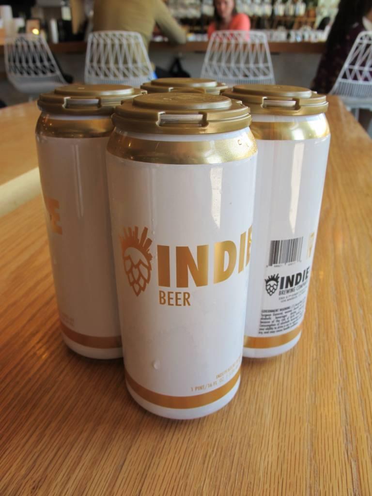 Indie Brewing Indie Brewing Blonde Ale 16oz 4pk