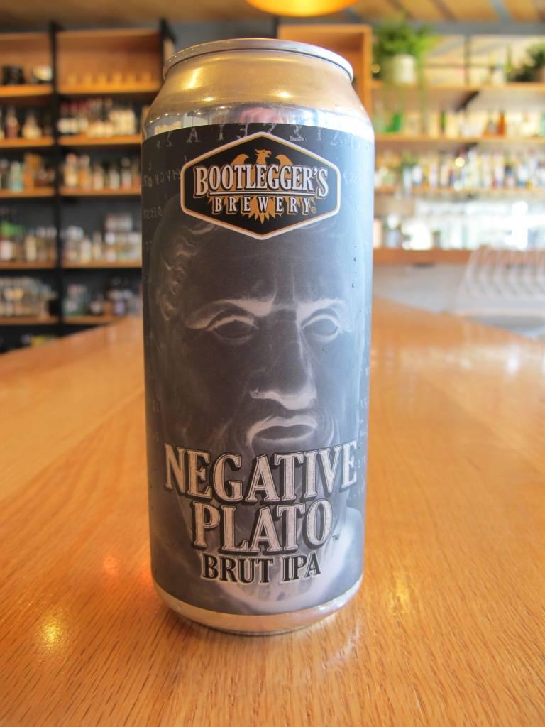 Bootlegger's Brewery Bootlegger Negative Plato Brut IPA 16oz