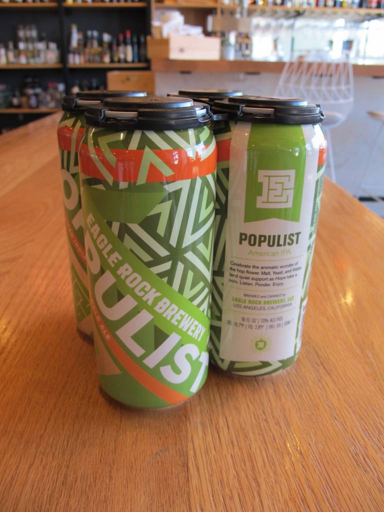 Eagle Rock Brewery Eagle Rock Brewing Populist 16oz 4pk
