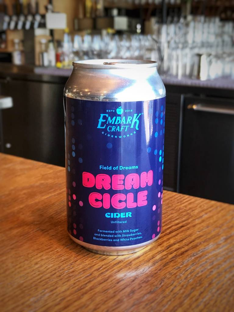"Embark Craft Ciderworks Embark Dream Cicles ""Field of Dreams"" 12oz"