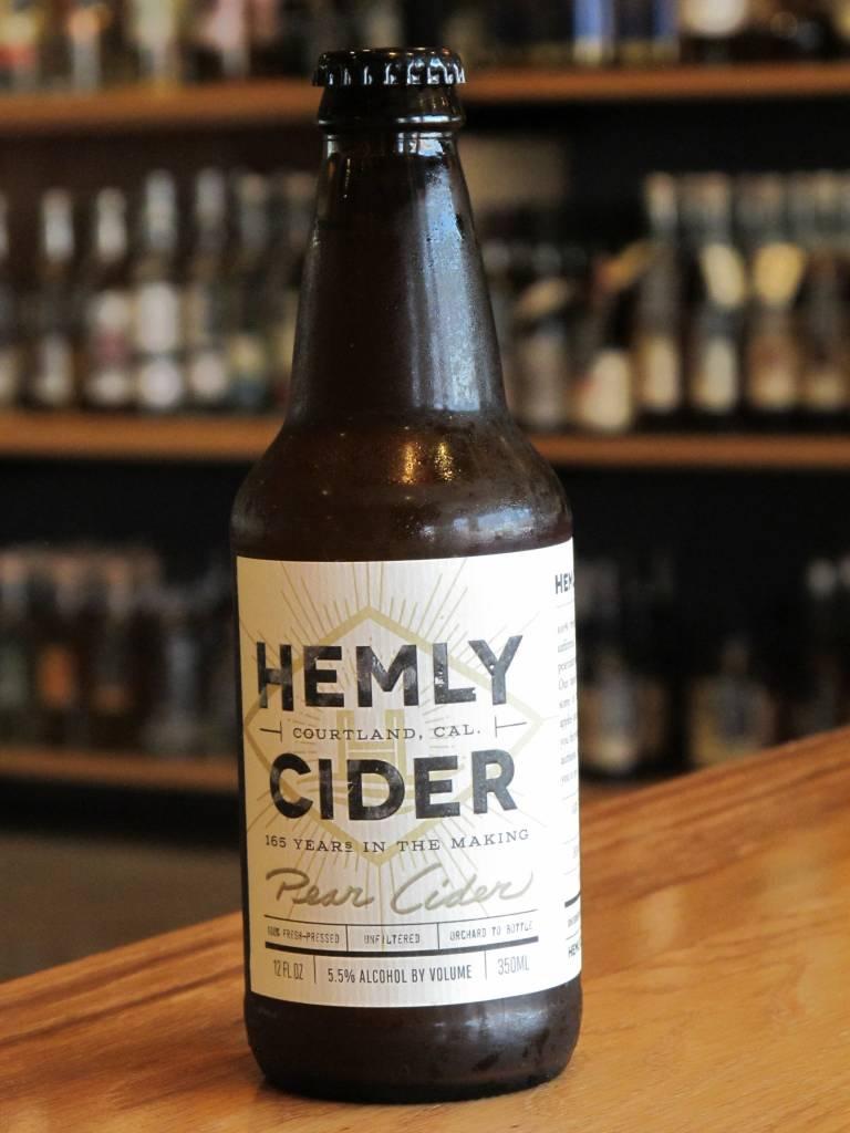 Hemly Cider Hemly Pear Cider 12oz