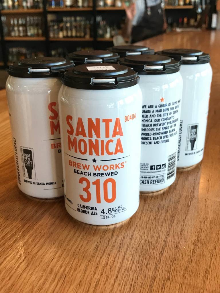 Santa Monica Brew Works Santa Monica Brew Works 310 California Blonde 6pack, 12oz