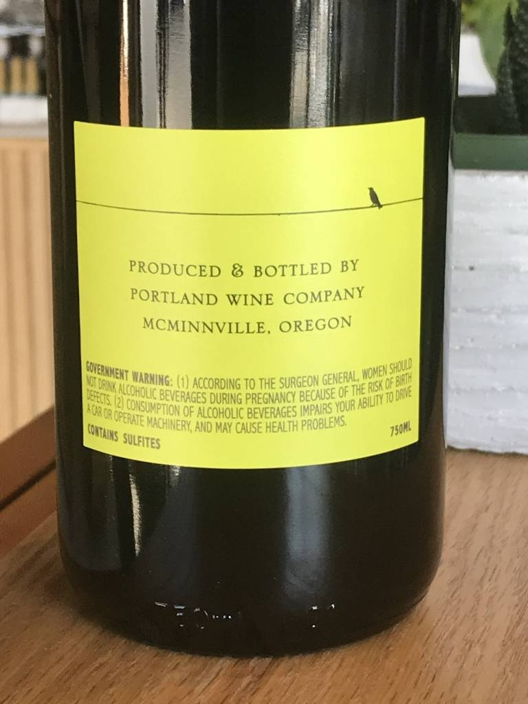 Love and Squalor 2015 Love and Squalor Pinot Noir Willamette Valley 750ml