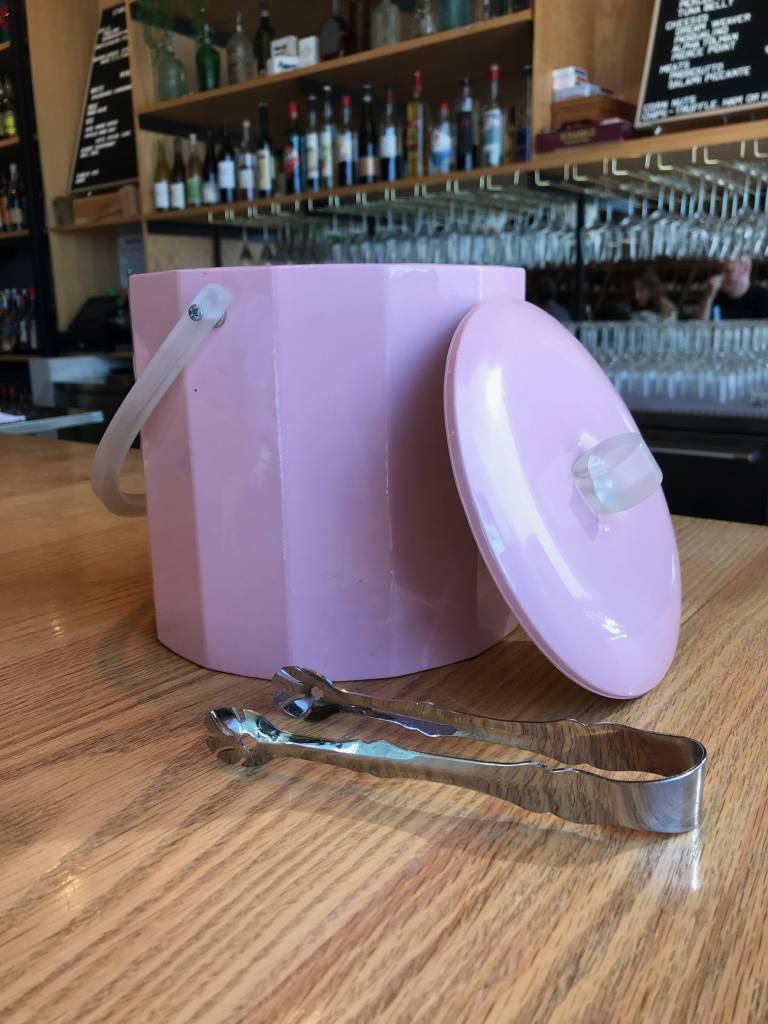 Georges Briard Vintage Georges Briard Pink Mod Ice Bucket