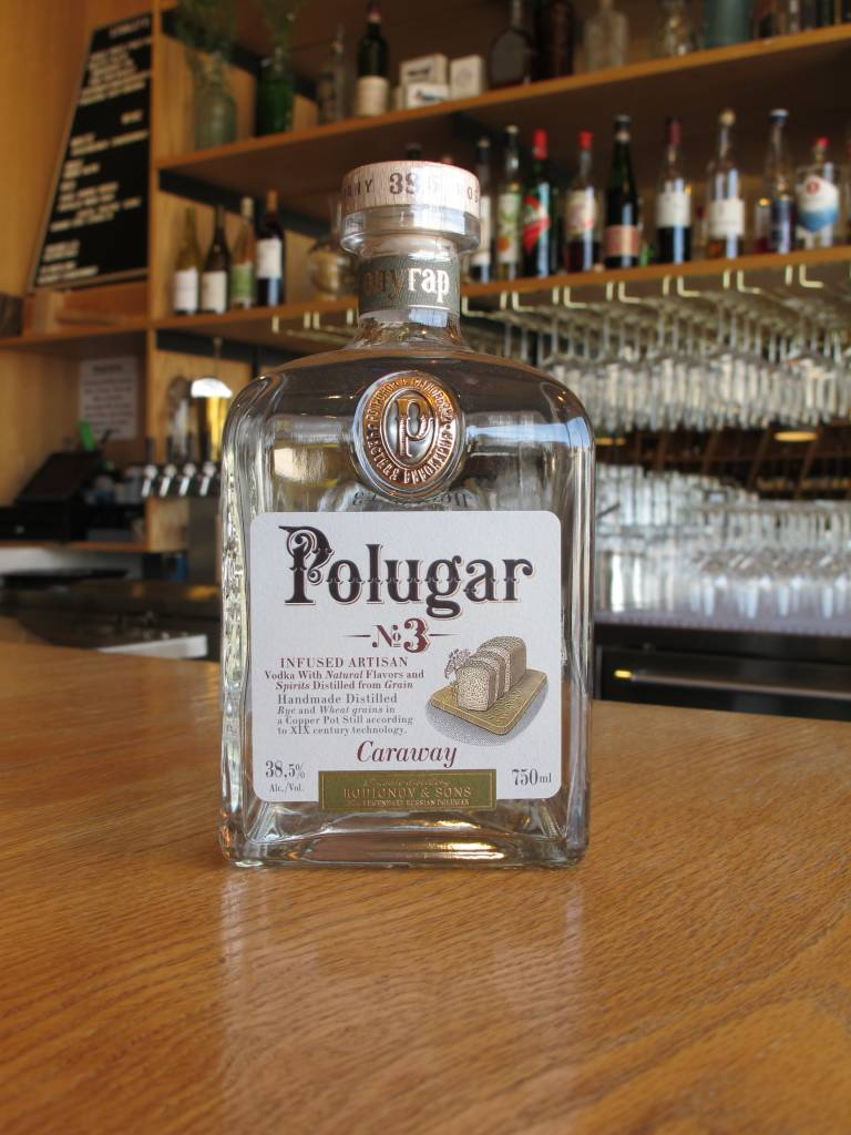 Polugar Polugar Vodka No. 3 Caraway 750mL