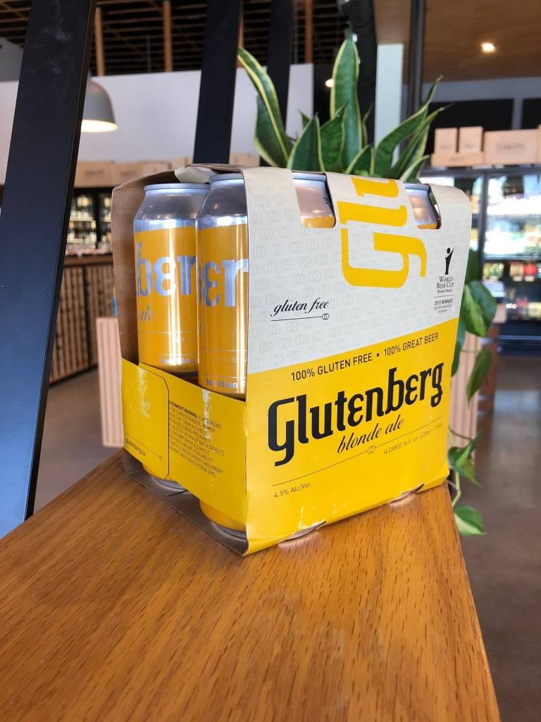 Glutenberg Glutenberg Blonde 16oz, 4pk
