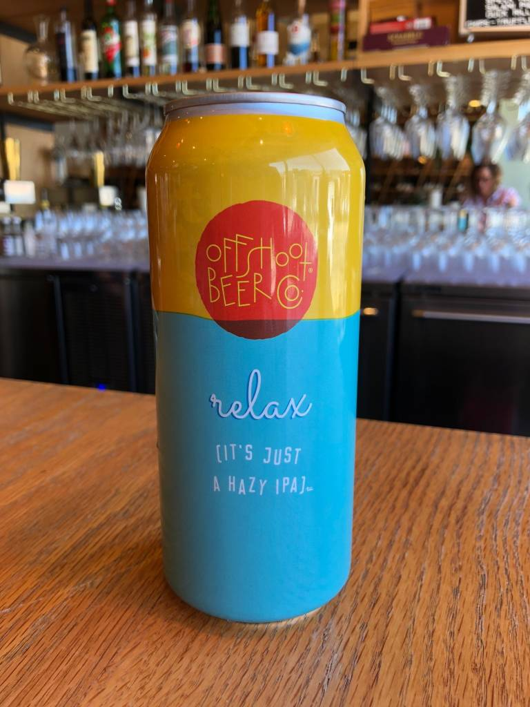 Offshoot Beer Co. Offshoot Relax It's Just a Hazy IPA 16oz