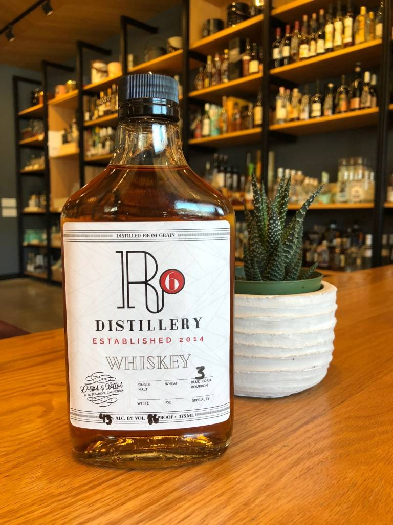 R6 Distillery Blue Corn Bourbon 375ml