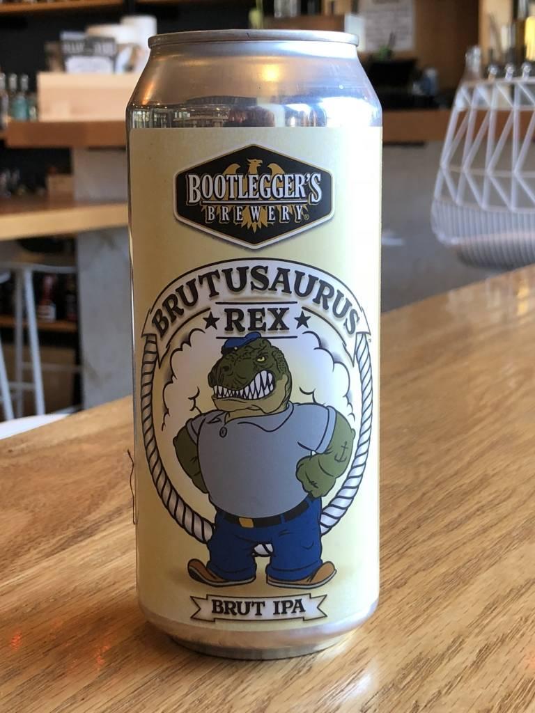 Bootlegger's Brewery Bootlegger Brutusaurus Rex Brut IPA 16oz