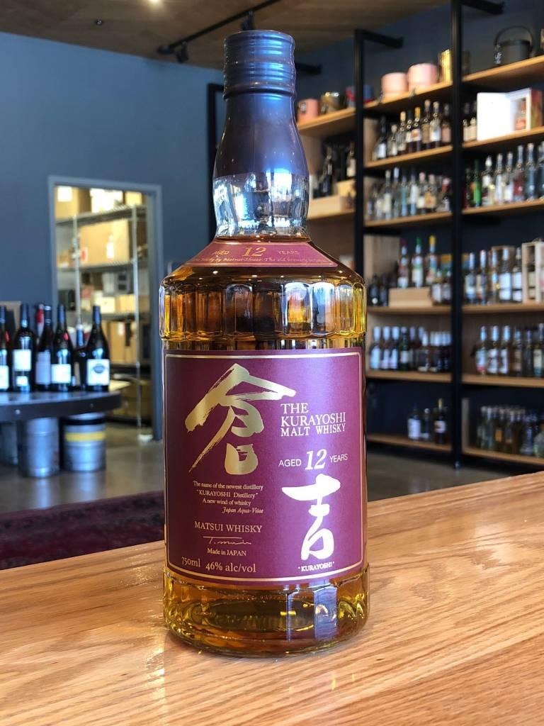Kurayoshi The Kurayoshi Japanese Malt Whiskey 12 Year 750ml