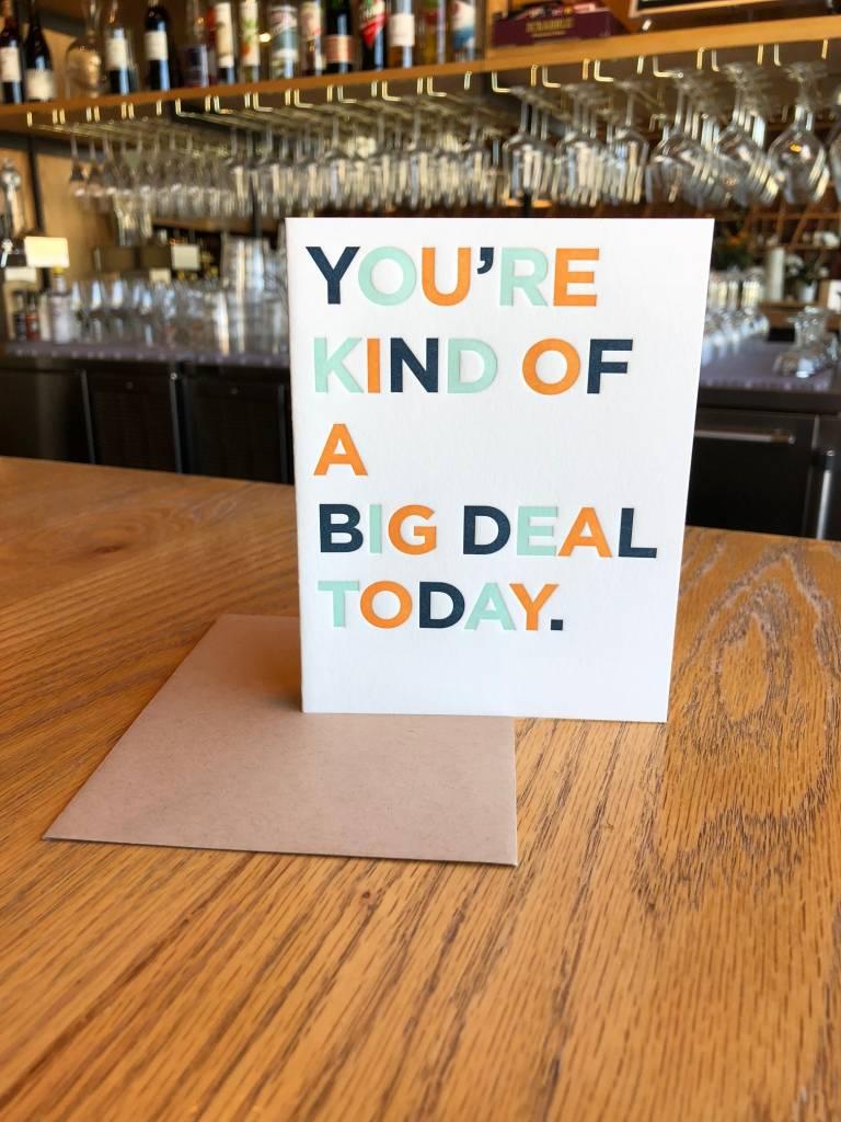 Big Deal Elum Greeting Card