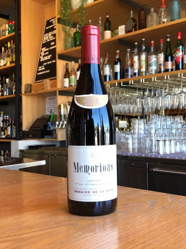 2014 Domaine de la Côte 'Memorious' Pinot Noir 750ml