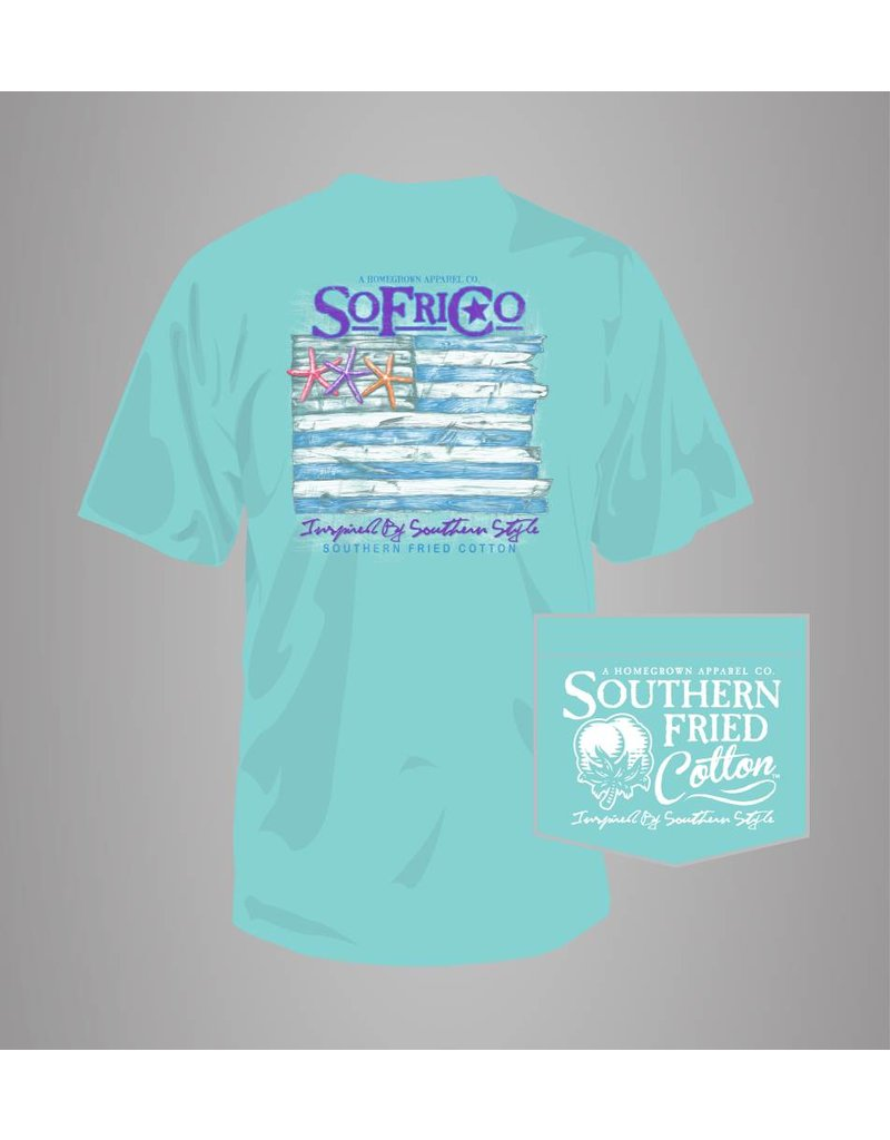 Southern Fried Cotton Southern Fried Cotton Coastal Pledge T-Shirt
