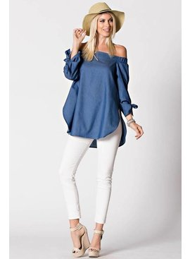 Umgee UMGEE Off Shoulder Top