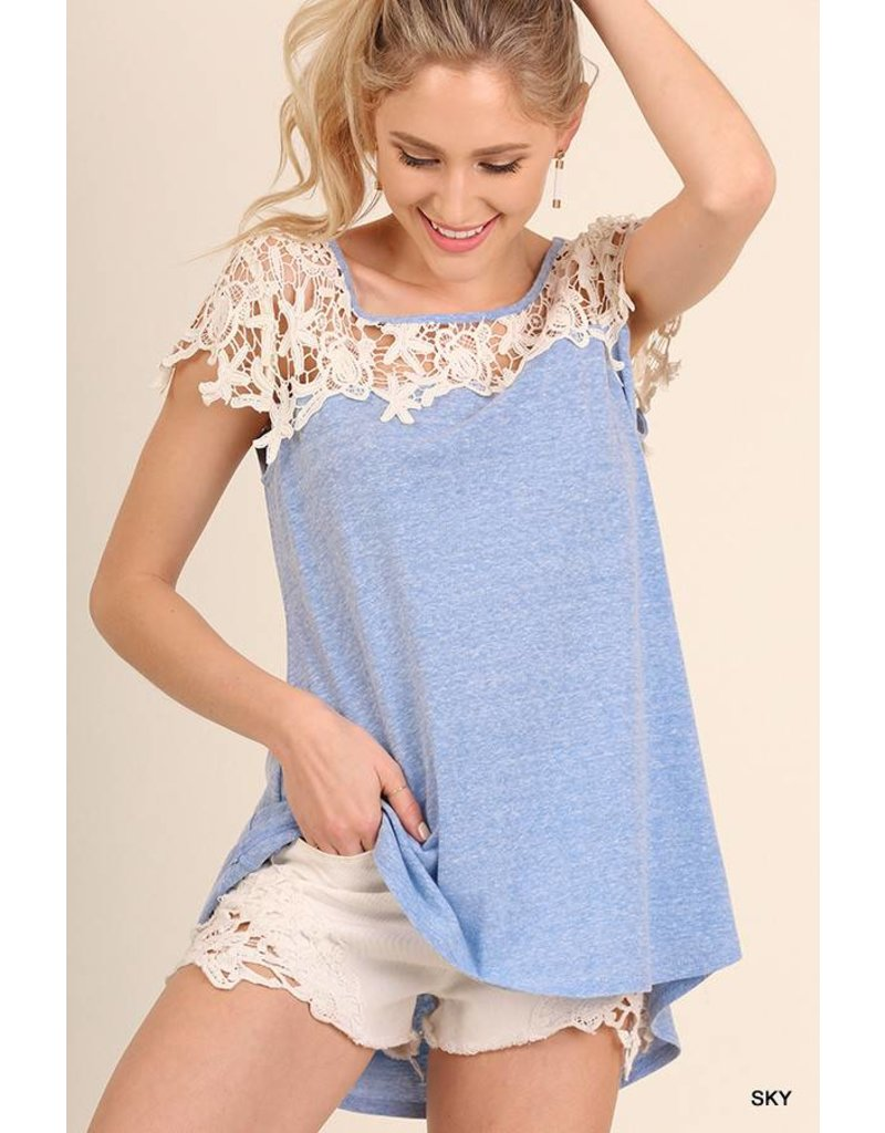 Umgee UMGEE Crochet Top